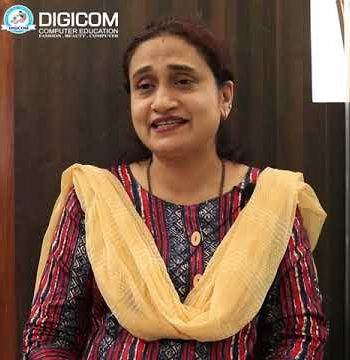 Rekha Naik Joined Digicom Computer Education to Improve her Skills in Banking Sectors